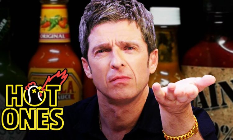 Noel Gallagher Looks Back in Anger at Spicy Wings   First We Feast