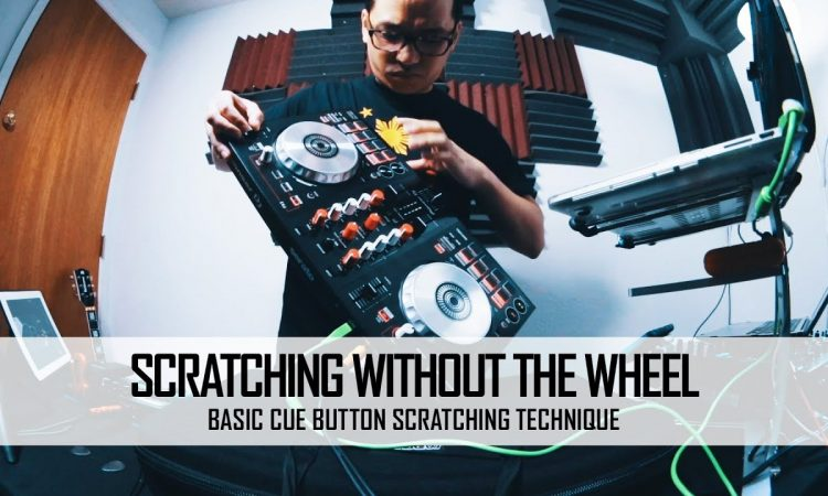 Scratching without the Wheels pt.1 | Basic Cue Button Scratching