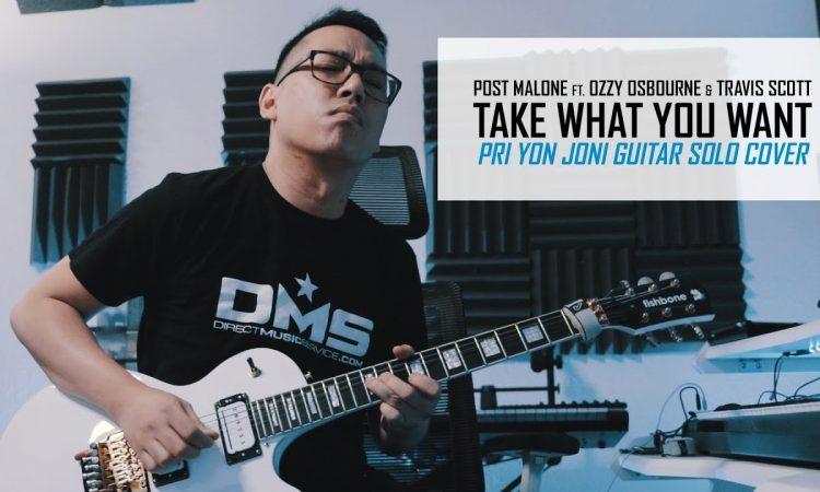 Take What You Want   Pri yon Joni Guitar Solo Cover   Post Malone ft. Ozzy Osbourne, Travis Scott