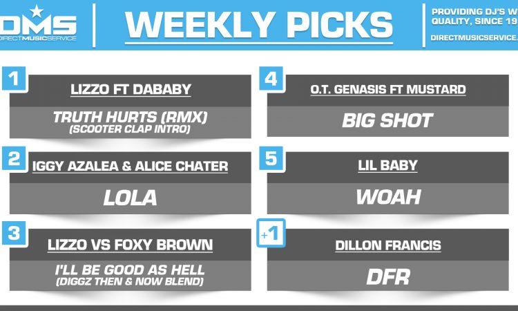 DMS TOP 5 PICKS OF THE WEEK – 11/11/19
