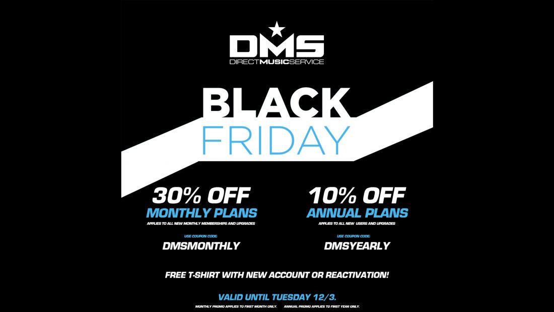 BLACK FRIDAY DMS MEMBERSHIP SALE!