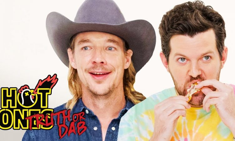 Diplo and Dillon Francis Play Truth or Dab   Hot Ones