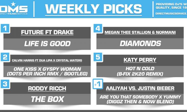 DMS TOP 5 PICKS OF THE WEEK – 1/13/2020