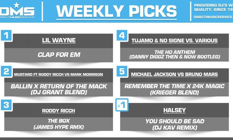 DMS TOP 5 PICKS OF THE WEEK – 2/3/2020