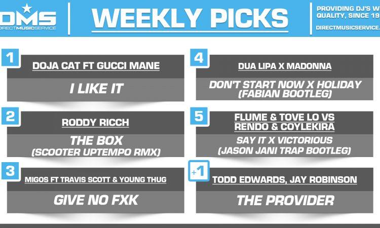 DMS TOP 5 PICKS OF THE WEEK – 2/17/2020