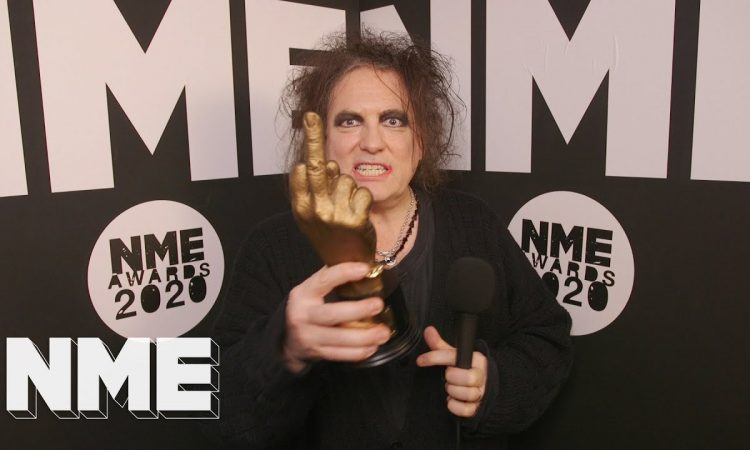 The Cure's Robert Smith Interview   NME Awards 2020