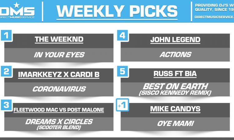 DMS TOP 5 PICKS OF THE WEEK – 3/23/2020