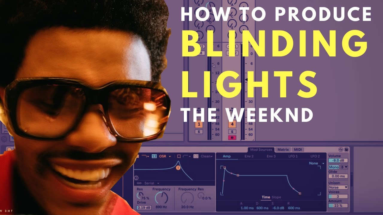 How To Produce The Weeknd's Blinding Lights