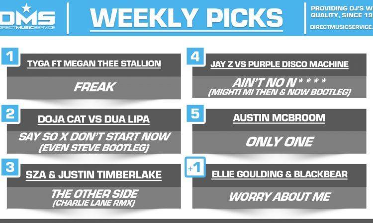 DMS TOP 5 PICKS OF THE WEEK – 3/16/2020