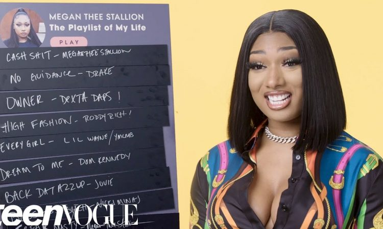 Megan Thee Stallion Creates the Playlist of Her Life   Teen Vogue