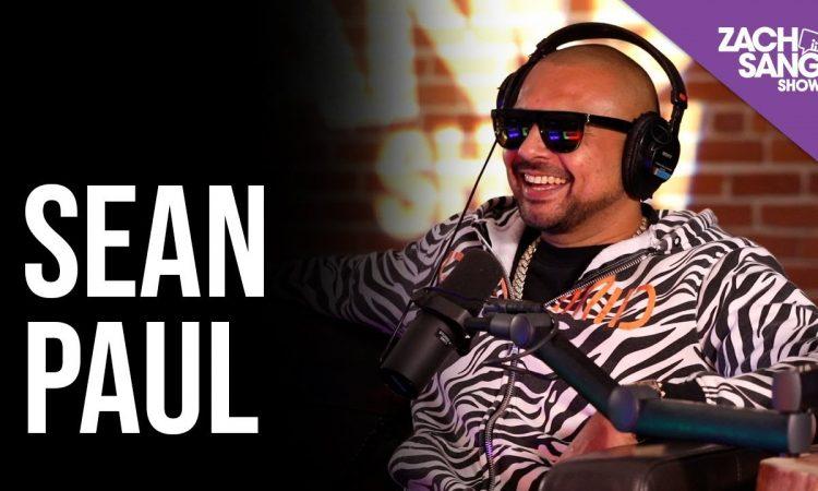 Sean Paul Talks Calling On Me w/ Tove Lo, Life in Jamaica & Temperature