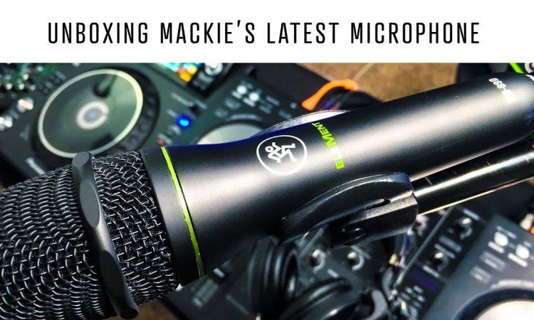 Unboxing the EM-89D | Mackie's brand new dynamic microphone | Pri Yon Joni