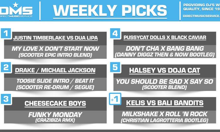 DMS TOP 5 PICKS OF THE WEEK – 4/6/2020