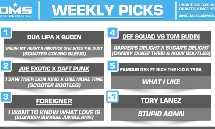 DMS TOP 5 PICKS OF THE WEEK – 4/13/2020