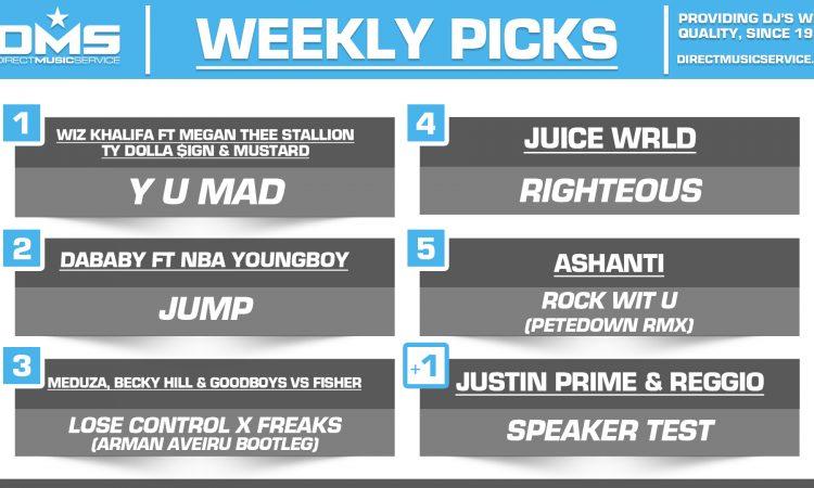 DMS TOP 5 PICKS OF THE WEEK – 4/27/2020