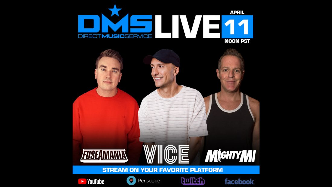 DMS Live Stream Featuring Vice, Mighty Mi, & Fuseamania
