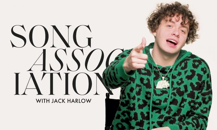 """Jack Harlow Raps """"WHATS POPPIN,"""" OutKast, and T.I. in a Game of Song Association 