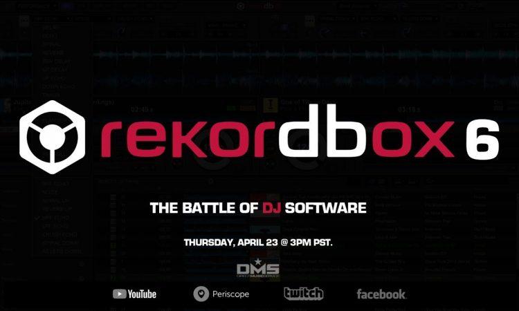 The Battle of DJ Software - Rekordbox 6 (DMS WEBINAR)