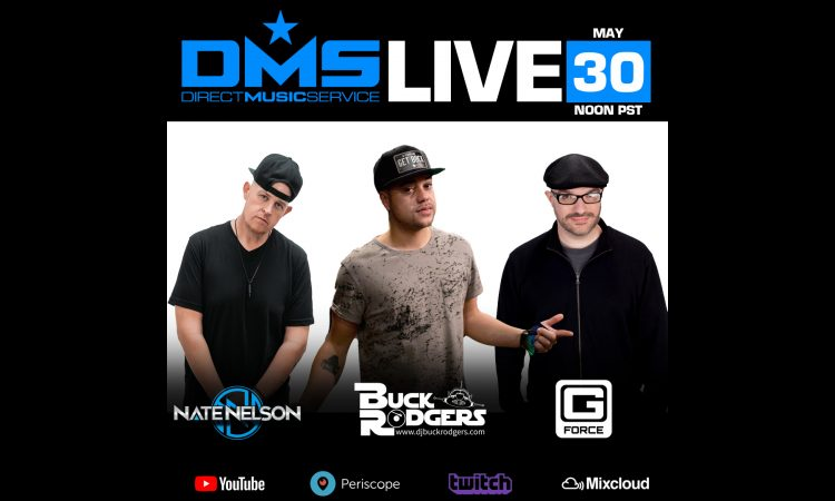 DMS LIVE STREAM FT. NATE NELSON, BUCK RODGERS, G FORCE