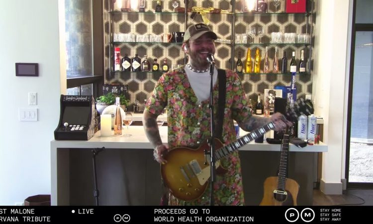 Post Malone x Nirvana Tribute - Livestream