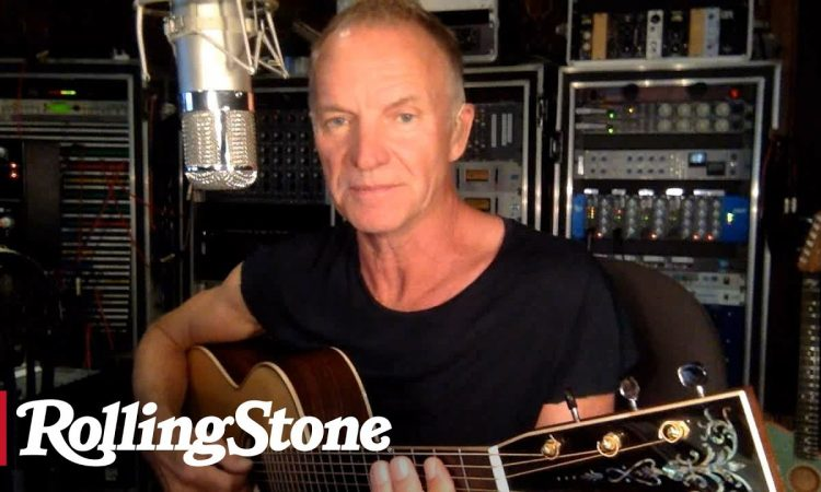 Sting Performs 'Message in 'Englishmen In New York,' and 'Fragile' | In My Room