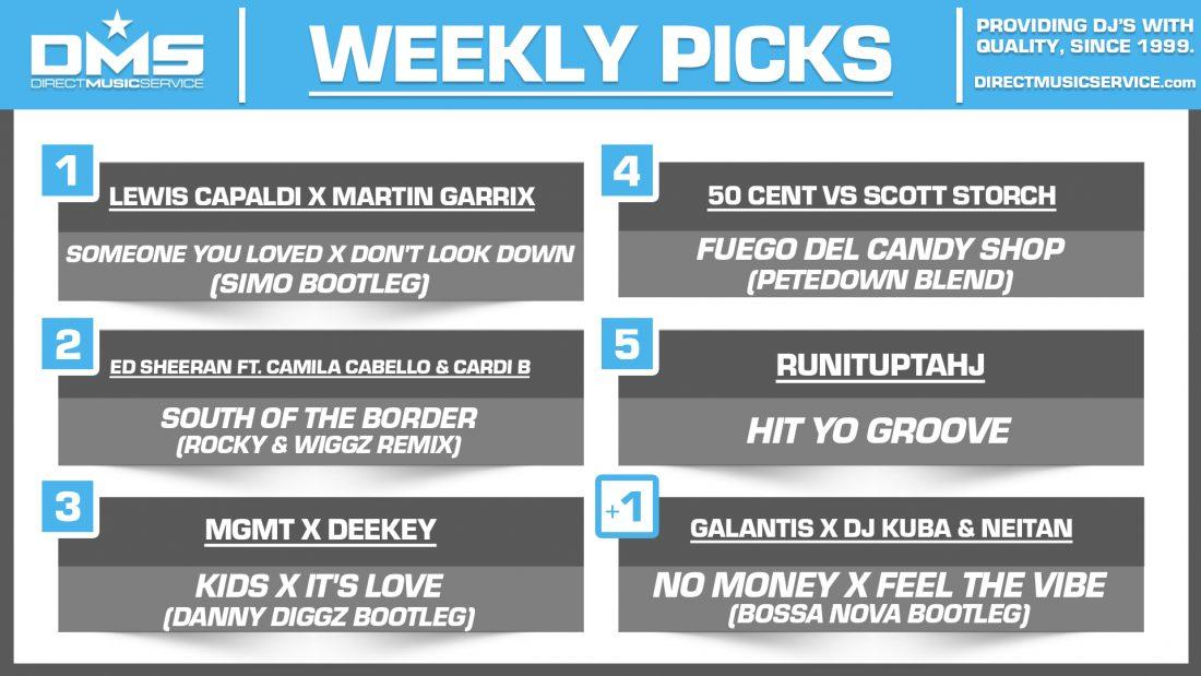 DMS TOP 5 PICKS OF THE WEEK – 6/8/2020
