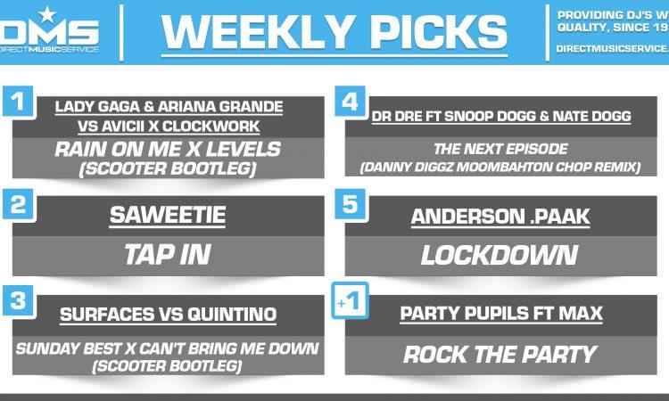 DMS TOP 5 PICKS OF THE WEEK – 6/22/2020