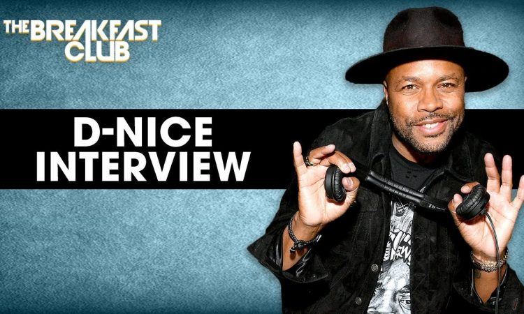 D-Nice Talks with The Breakfast Club.