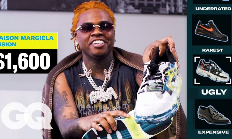 Gunna Shows Off His Favorite Sneakers, From Most Expensive to Ugliest | GQ
