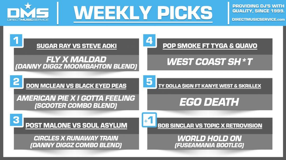 DMS TOP 5 PICKS OF THE WEEK – 7/6/2020
