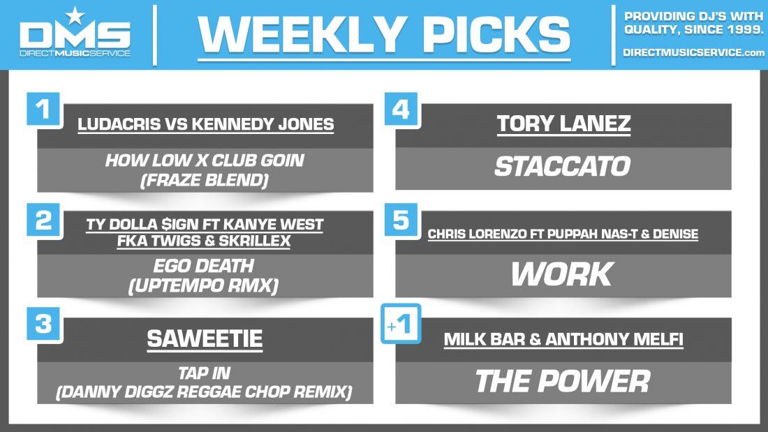 DMS TOP 5 PICKS OF THE WEEK – 7/20/2020