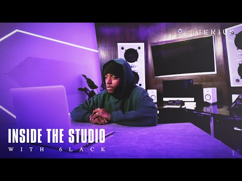 6LACK Gives A Tour Of His Studio & Explains What His Name Represents | Inside The Studio