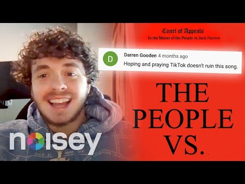 Jack Harlow Respond to Comments About TikTok, Curly Hair, and Making Videos | The People Vs.