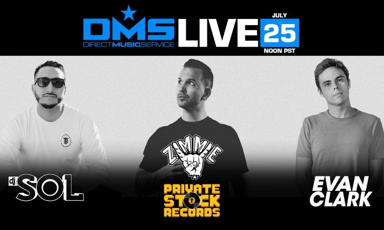 DMS LIVE STREAM FT. DJ SOL, EVAN CLARK, & DJ ZIMMIE