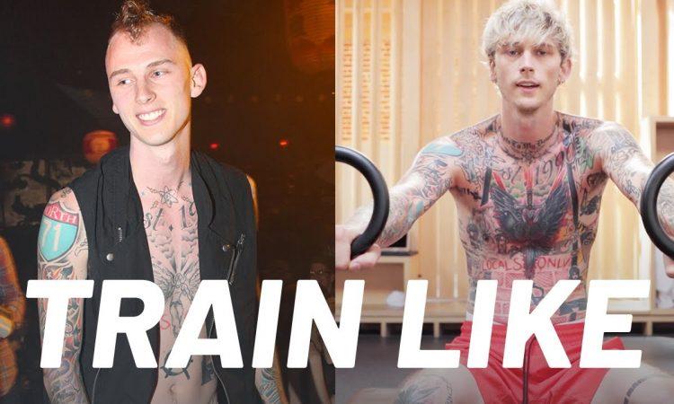 Machine Gun Kelly's Transformation Workout Routine | Train Like a Celebrity | Men's Health