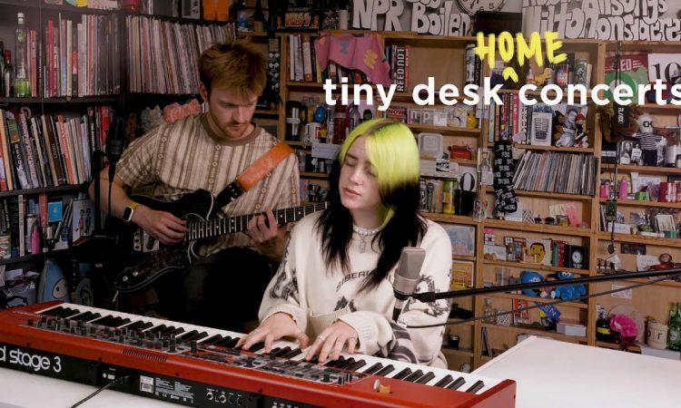 Billie Eilish: Tiny Desk (Home) Concert | NPR