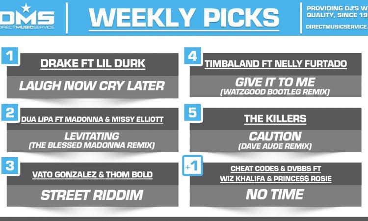DMS TOP 5 PICKS OF THE WEEK – 8/17/2020