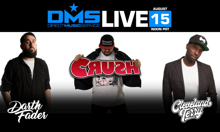 DMS LIVE STREAM FT. CLEVELAND TERRY, DARTH FADER, & CRUSH