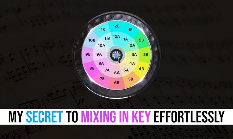 My secret to MIXING IN KEY effortlessly | Pri yon Joni