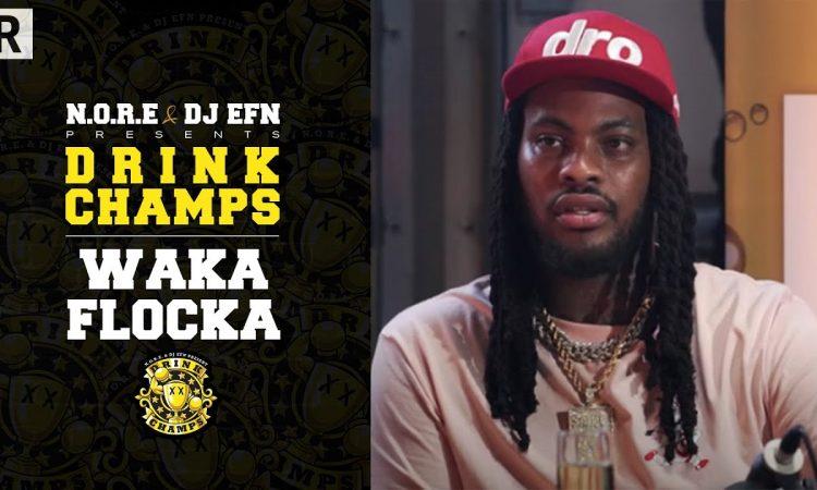Waka Flocka Talks His Music Journey, Mental Health, Desiac Liqueur And More   Drink Champs