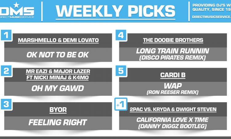 DMS TOP 5 PICKS OF THE WEEK – 9/14/2020