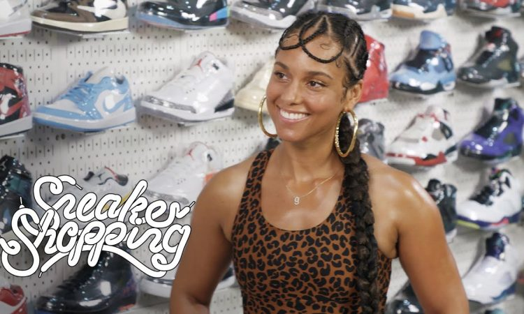 Alicia Keys Goes Sneaker Shopping With Complex