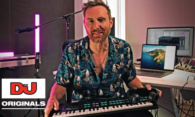 David Guetta Makes A Track In Ableton Using A Talkbox | DJ MAG