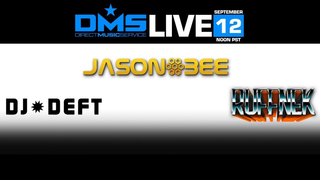 DMS LIVE STREAM FT. DJ JASON BEE, DJ DEFT, & RUFFNEK