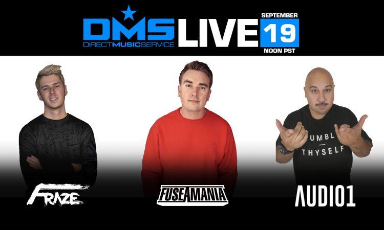 DMS LIVE STREAM FT. AUDIO1, FRAZE, & FUSEAMANIA