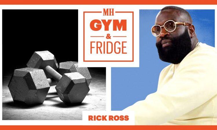 Rick Ross Shows His Gym & Fridge | Gym & Fridge | Men's Health