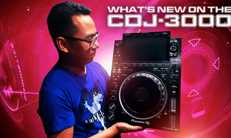 Everything NEW on the CDJ-3000! | Pri  yon Joni