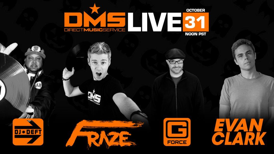 DMS LIVE FT. DJ DEFT, FRAZE, G-FORCE, & EVAN CLARK