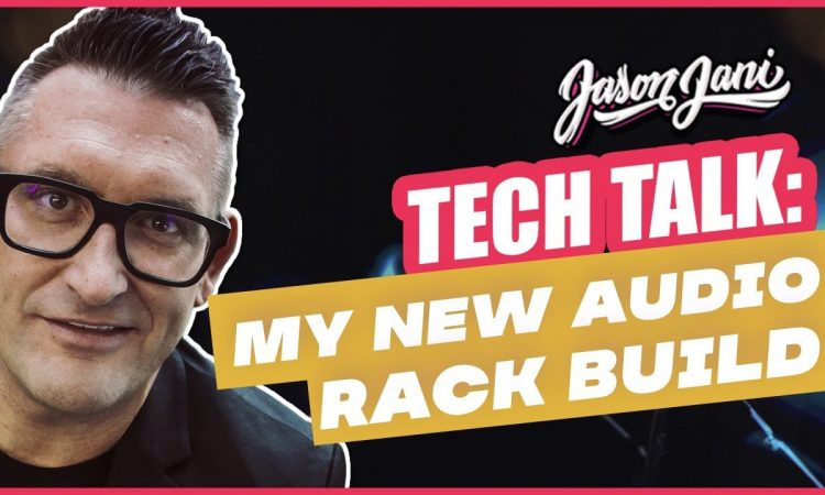 New Rack build for small events + ceremonies - Shure QLXD, SKB, QSC Touch mix and more... | JASON JANI