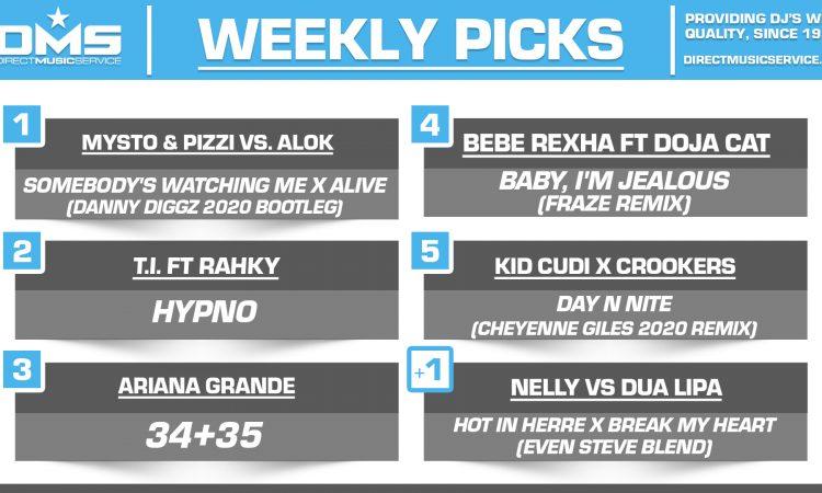 DMS TOP 5 PICKS OF THE WEEK – 11/2/2020